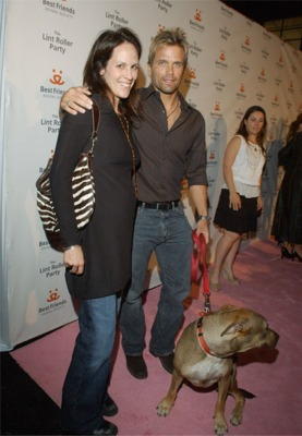 Annabeth Gish, David Chokachi and Cami