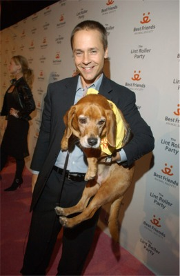 Chad Lowe and Spunky