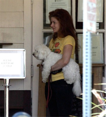 Debra Messing and Laila