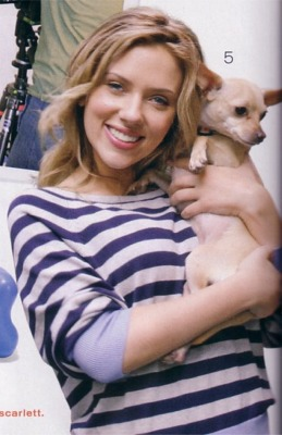 Scarlett Johansson and Maggie