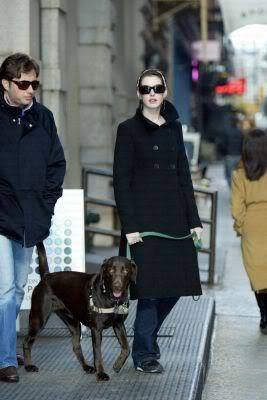 Anne Raffaello And A Dog Named Esmeralda
