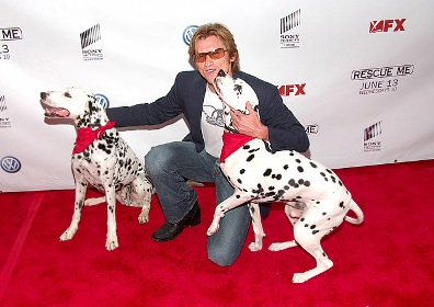Denis Leary at Rescue Me Premiere