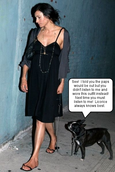 famke amp licorice get snapped in nyc