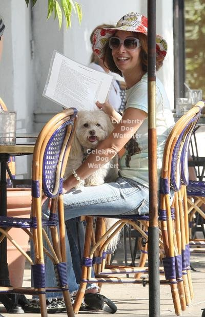Illeana Douglas Hot Illeana douglas and her dog