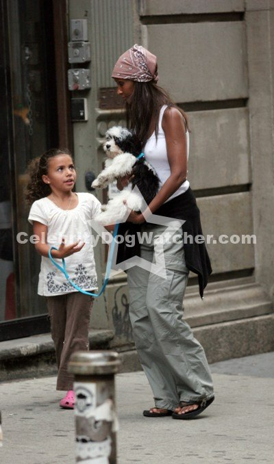 Gorgeous Iman and her beautiful daughter Alexandria Zahra by her