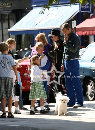 Jude Law and Sadie Frost with Kids