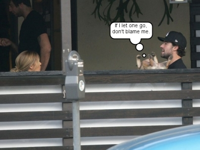 Lauren Conrad, Brody Jenner, Bentley