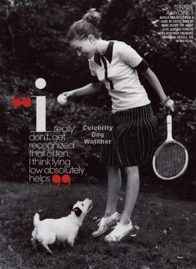 Natalie Portman's December/January Teen Vogue Spread