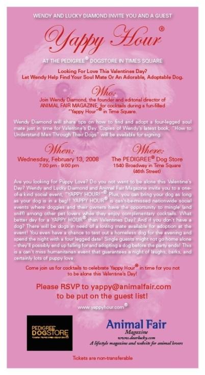 Yappy Hour Invitation
