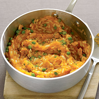 Carrot and Peas Orzo