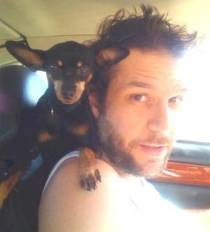Dane Cook and Beast