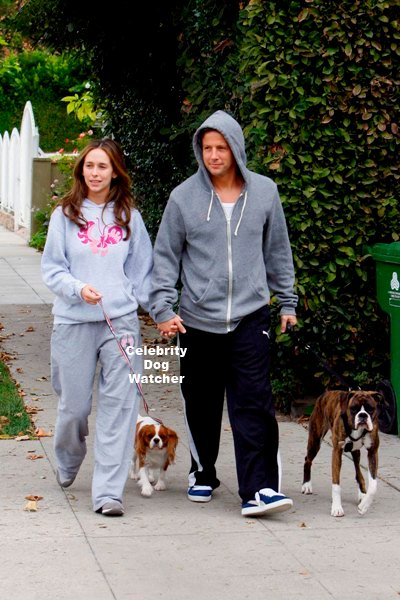 Photo of Jennifer Love Hewitt & her Dog Mona & Charlie