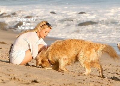 Nicollette Sheridan and Oliver