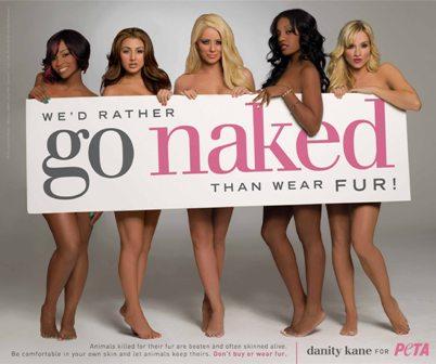 Danity Kane for PETA