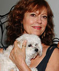susan sarandon dog