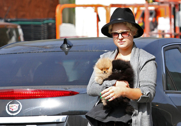 Kelly Osbourne dog dies