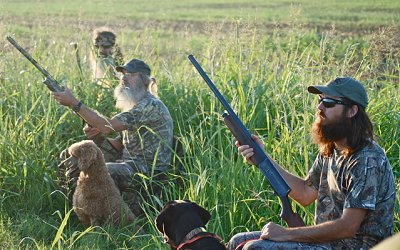 duck dynasty hunting dogs