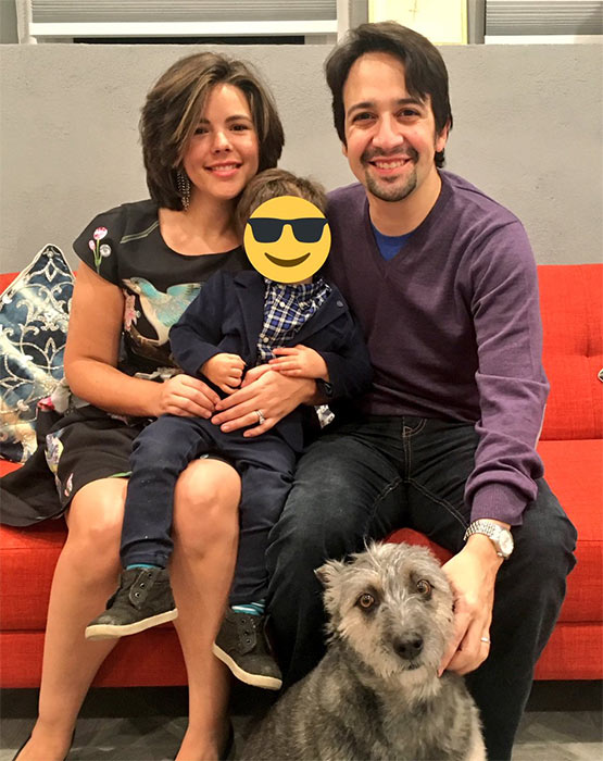 lin manuel miranda family dog