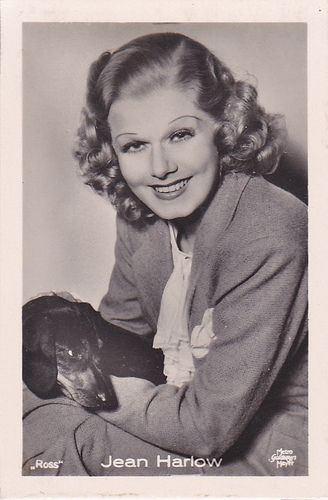 jean harlow dachshund name ross